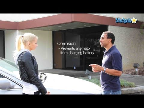 How to Clean off Corrosion from a Battery