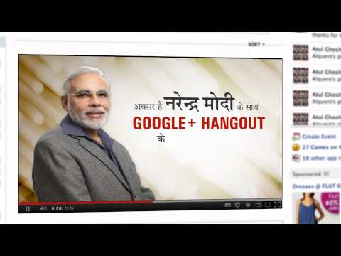 Your questions, Ajay Devgn's presence & Narendra Modi's inspiring answers- Come 'Hangout' with Modi!