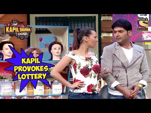 Kapil Provokes Lottery To Mock Sarla – The Kapil Sharma Show