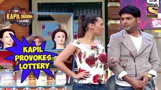 Kapil Provokes Lottery To Mock Sarla - The Kapil Sharma Show