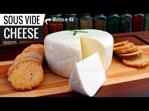Sous Vide CHEESE from SCRATCH! Queijo Minas AKA Queso Blanco