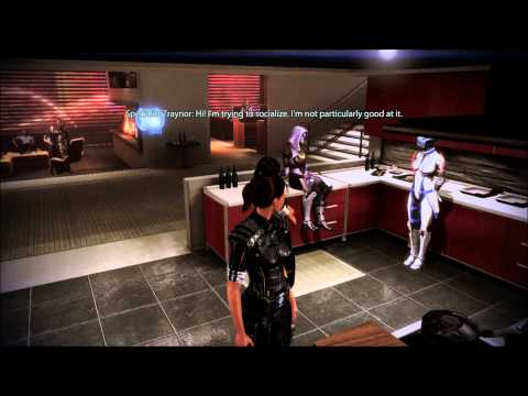 Mass Effect 3 with Commentary [Part 85]: Apartment Party at the Citadel!