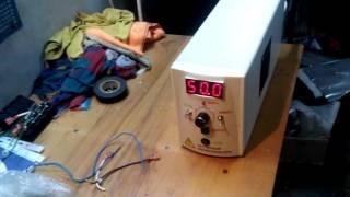 Частотный преобразователь(Частотный преобразователь, созданный своими силами. Сейчас делаем в другом корпусе https://www.youtube.com/watch?v=6ilI2At3UtA..., 2015-12-02T17:11:05.000Z)