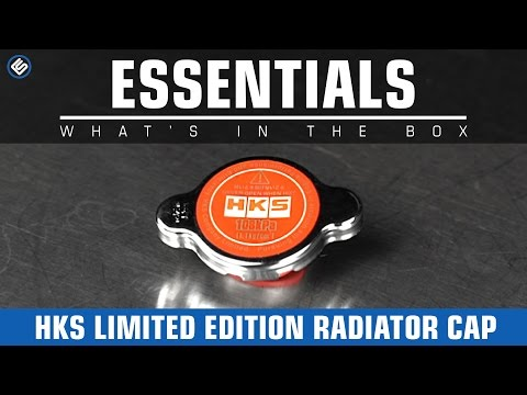 HKS Limited Edition Radiator Cap 1.1 Bar - What's In The Box?