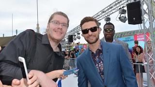 Justin Timberlake at Trolls Premier + GQ Awards Sydney