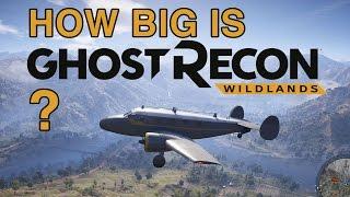 How Big Is The Map In Ghost Recon Wildlands?
