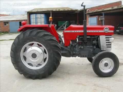 massey ferguson 165 youtube. Black Bedroom Furniture Sets. Home Design Ideas
