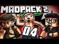 "Minecraft Madpack 2 w/ Paulsoaresjr & LuclinFTW ""Happy Thanksgiving"" EP 04"