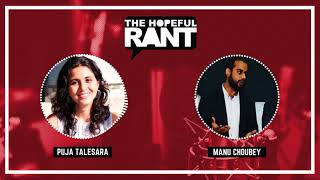 "The Hopeful Rant with Puja Talesara | Teaser 2 | ""Are millennials stressed"""