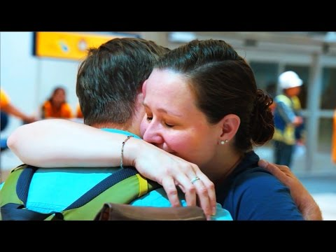 Tearful Reunion for Military Couple Episode 2 | Hello Goodbye | CBC