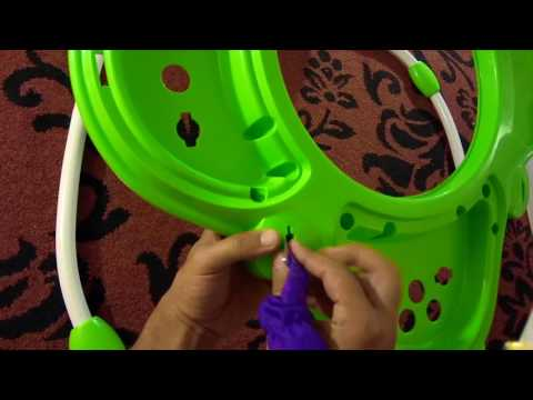 d97e01a9f Assemble   disassemble Baby Einstein Jumper to store - easy to take ...