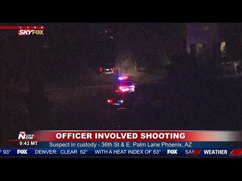 BREAKING NEWS: Police investigation in Phoenix