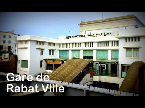 Gare de Rabat Ville 2018