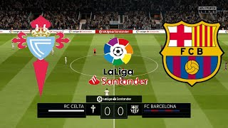 FIFA 20 Celta Vigo vs Barcelona La Liga 2020 21 Full Match Gameplay