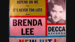 Brenda Lee - Its Never Too Late (1961) YouTube Videos