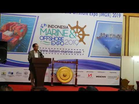 Pembukaan Marine Offshore Expo 2019