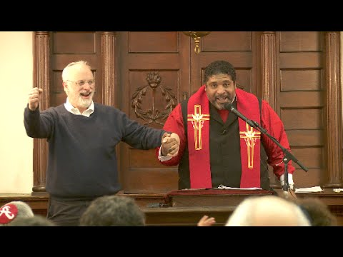 Rev. Dr. William J. Barber, II Speaks at Temple Mishkan Israel