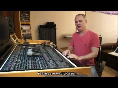 Estudio Genesis - Mesa de som e o