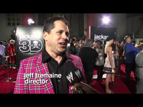The Miz & Maryse attend the Jackass 3D premiere in Los Angeles