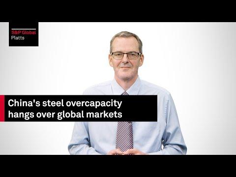 China's steel overcapacity hangs over global markets