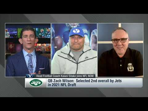 BYU Head Coach Kalani Sitake Shares What The Jets Are Getting | The New York Jets | NFL