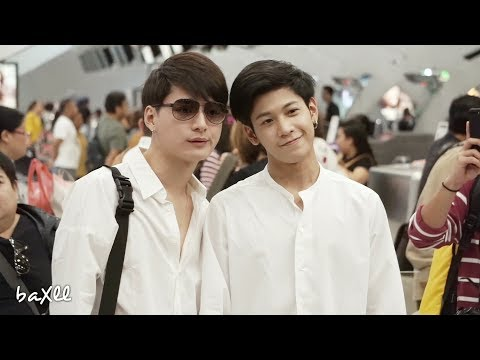180324 Singto&Krist - Heading to Taipei @ BKK Airport