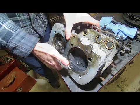 VW - 1500CC Engine Tear Down/Assembly - Part 2 - Valve Failure / Push Rod Tubes / Alternator Fan