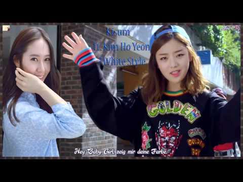 Kisum ft. Kim Ho Yeon -  #White Style (#화이트 스타일) MV HD k-pop [german Sub]