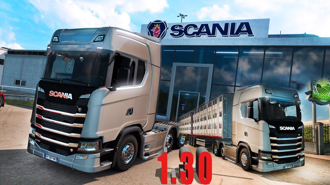 scania s r tuning beta euro truck simulator 2. Black Bedroom Furniture Sets. Home Design Ideas
