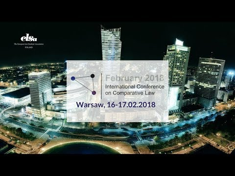 LIVE STREAM | III International Conference on Comparative Law | ELSA Warszawa