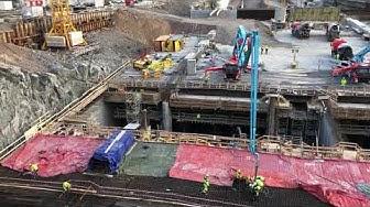 E4 Förbifart Stockholm – Akalla betongtunnel gjuts | Trafikverket
