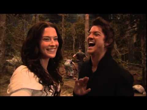 Bridget and Craig - Behind the scenes of Legend of the Seeker