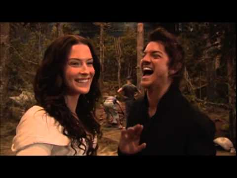 Bridget and Craig  Behind the s of Legend of the Seeker