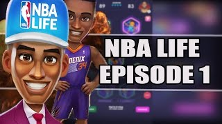 NBA LIFE #1 - WHAT EVEN IS THIS? (IOS/Android Gameplay)