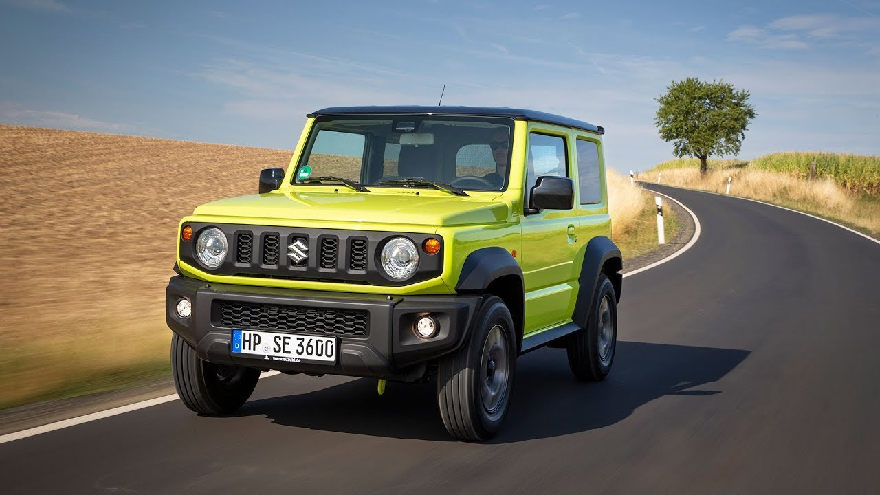 2019 Suzuki Jimny First Drive Review Youtube