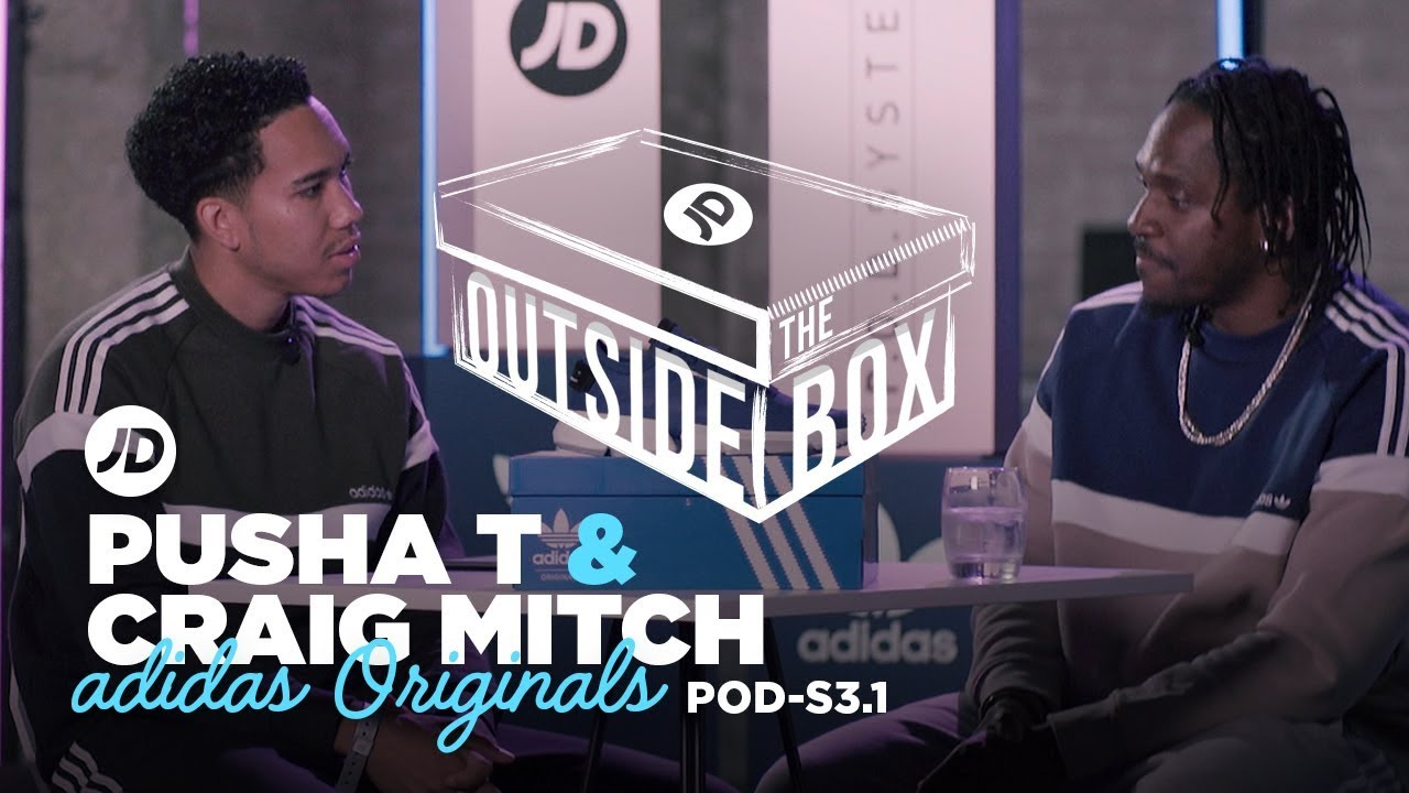 super popular 26984 e028f Pusha T Talks adidas Originals P.O.D-S3.1, Kanye West and Daytona | JD  Outside The Box & Win a Pair