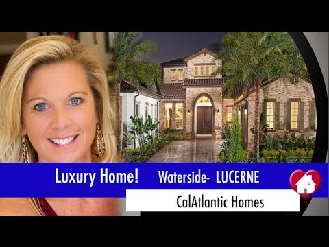 New Homes Winter Garden Florida Lucerne Model at Waterside by CalAtlantic