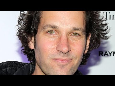 The Truth About Paul Rudd Finally Revealed