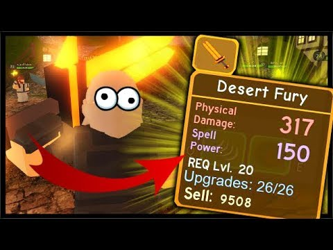 Desert Fury Legendary Sword Winter Outpost First Runs Roblox