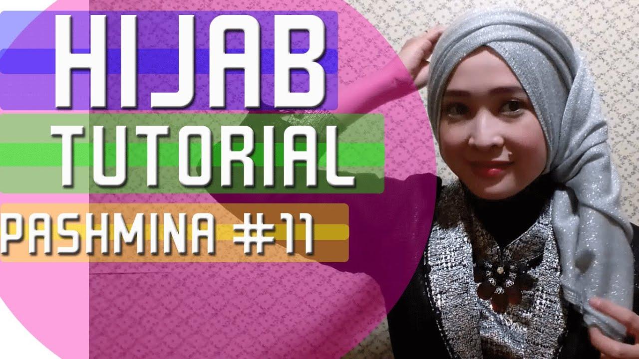 Tutorial Hijab Pashmina Untuk Ke Pesta Hijab By Anna Maria 11