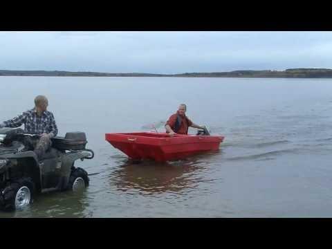 tetraPOD ATV Trailer Boat