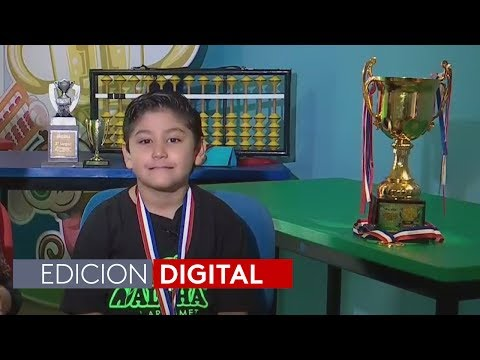 Un niño mexicano de 6 años es el nuevo campeón mundial de matemáticas