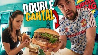 On goute le Master Double Cantal de chez Burger King avec Pidi ! (il est énorme)
