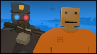 Unturned 3.0 PvP Gameplay - COPS & ALCATRAZ PRISON! (PvP Server 3.0 Roleplay - Funny Moments)