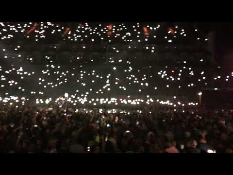 Love Of My Life - Brian May + Freddie On Screen, Live At The O2