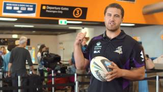 Melbourne Storm's Tips to Fly Tigerair