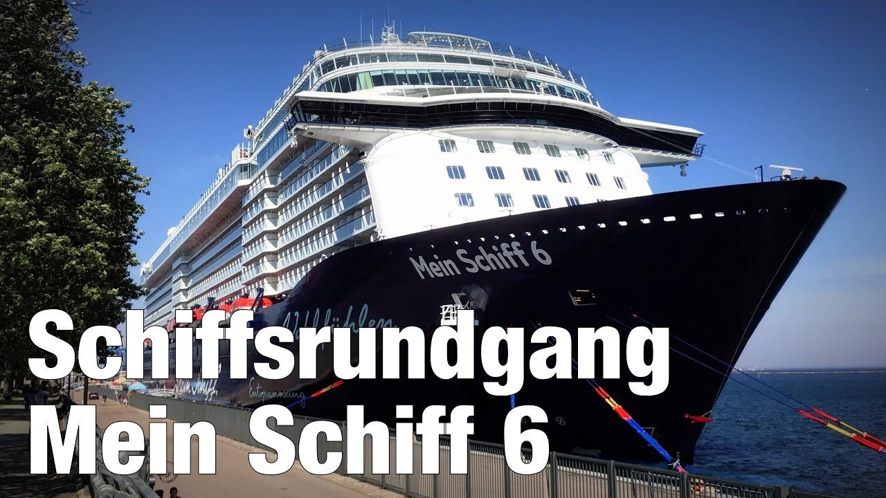 Mein Schiff 6 Kompakter Rundgang über Das Neue Wohlfühlschiff