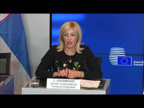 20.06.2017 - EU-Serbia press conference