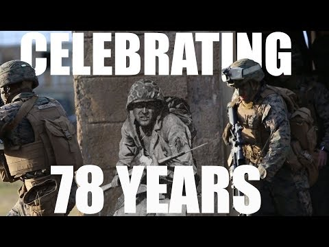 78th Anniversary of 2nd Marine Division