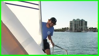 Our New Headsail is Finally Here! | Learning the Lines
